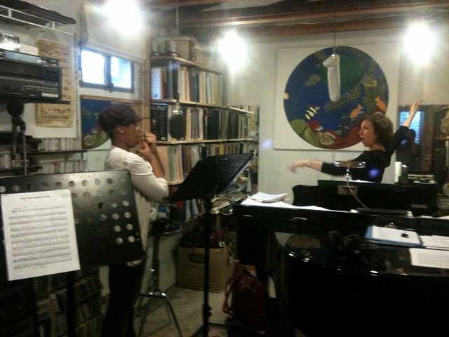Private session with studio singer